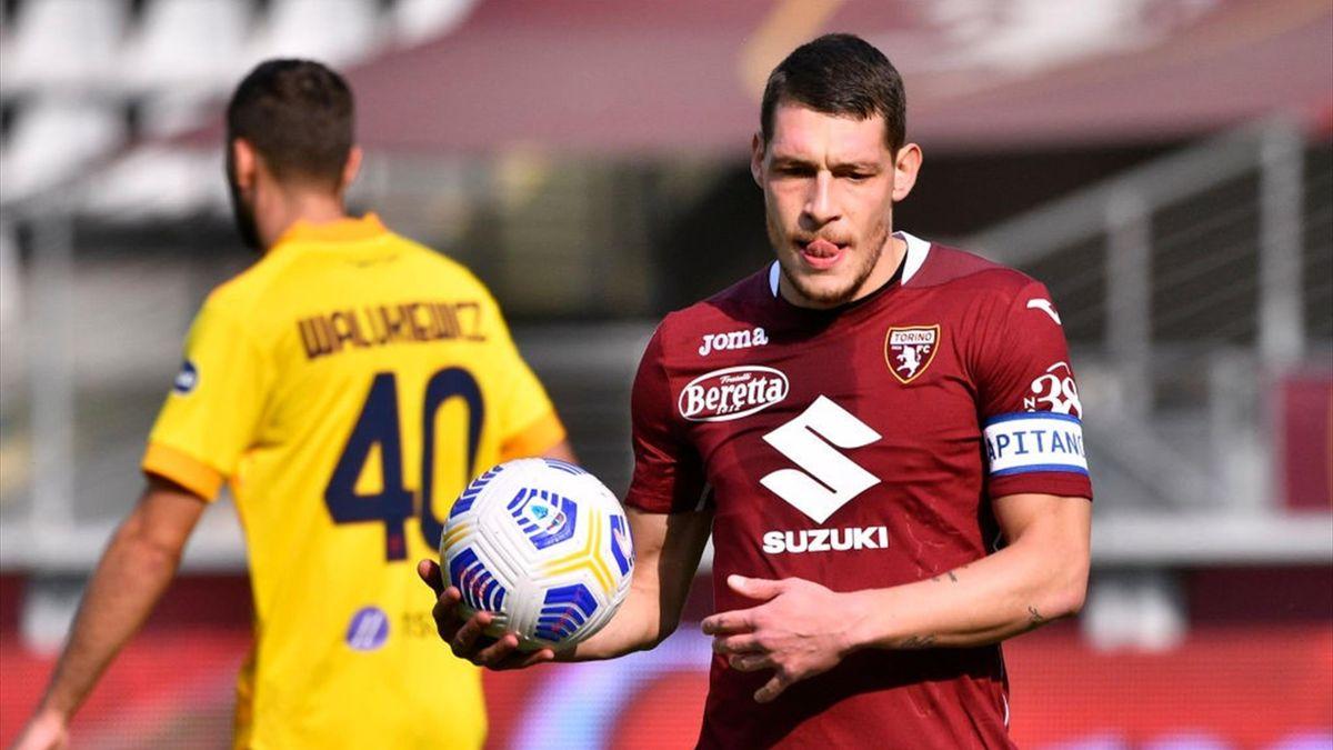 Andrea Belotti - Torino-Cagliari Serie A 2020-21