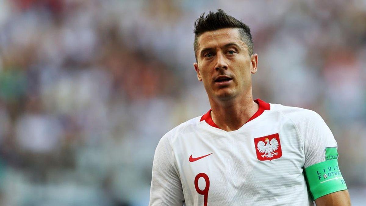 Robert Lewandowski - 2018 FIFA World Cup Russia group H - Japan-Poland - Getty Images