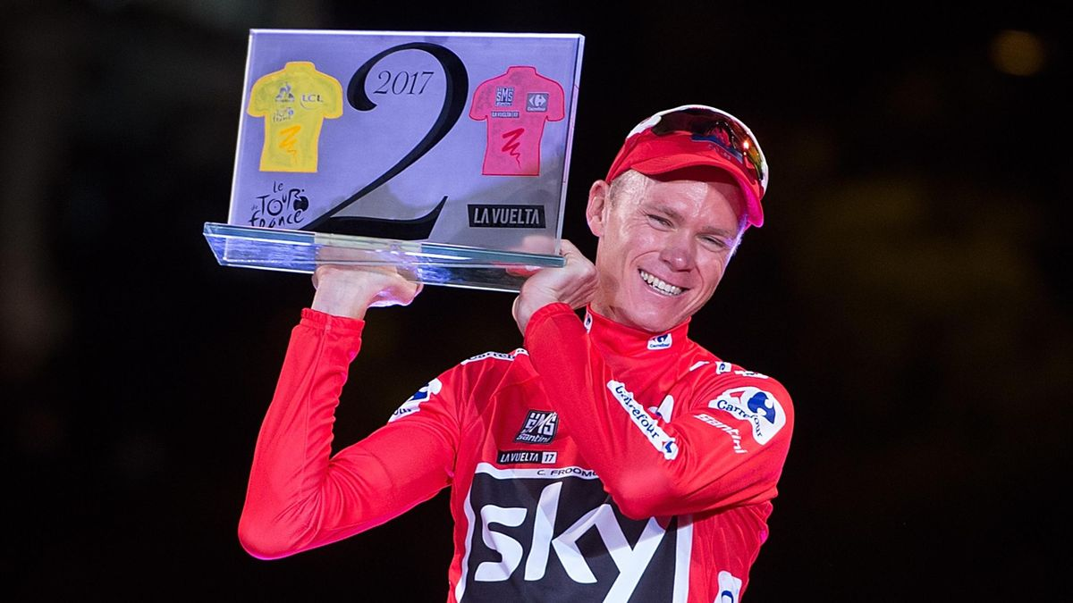 Chris Froome, ganador de La Vuelta 2017