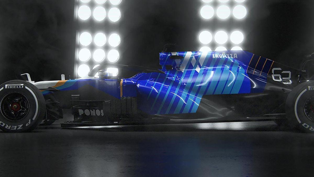 La Williams F43B, monoplace de la saison 2021