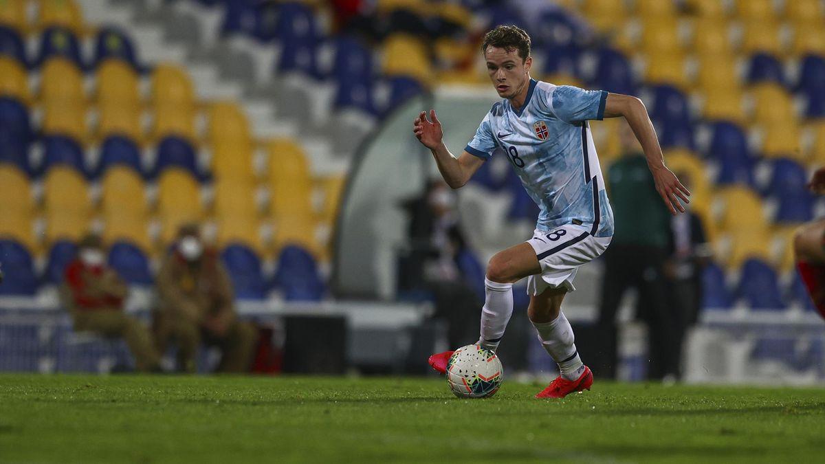 Håkon Evjen for U21-landslaget