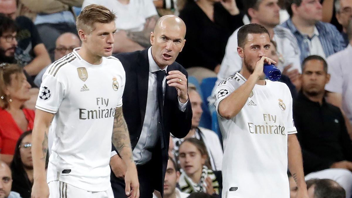 Зинедин Зидан, Тони Кроос, Эден Азар, «Реал Мадрид»