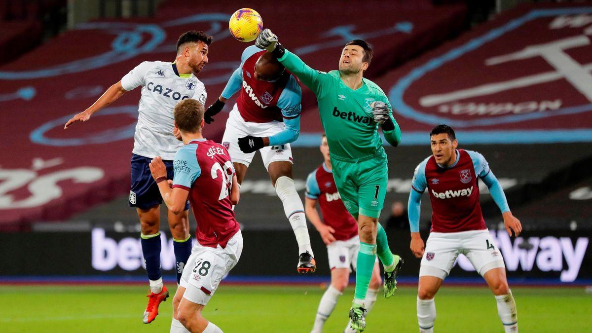 Fabiański Łukasz West Ham Aston Villa