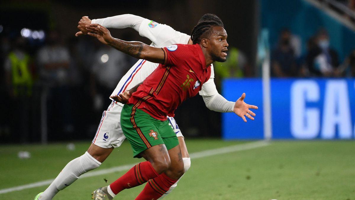 Renato Sanches im EM-Gruppenspiel gegen Frankreich