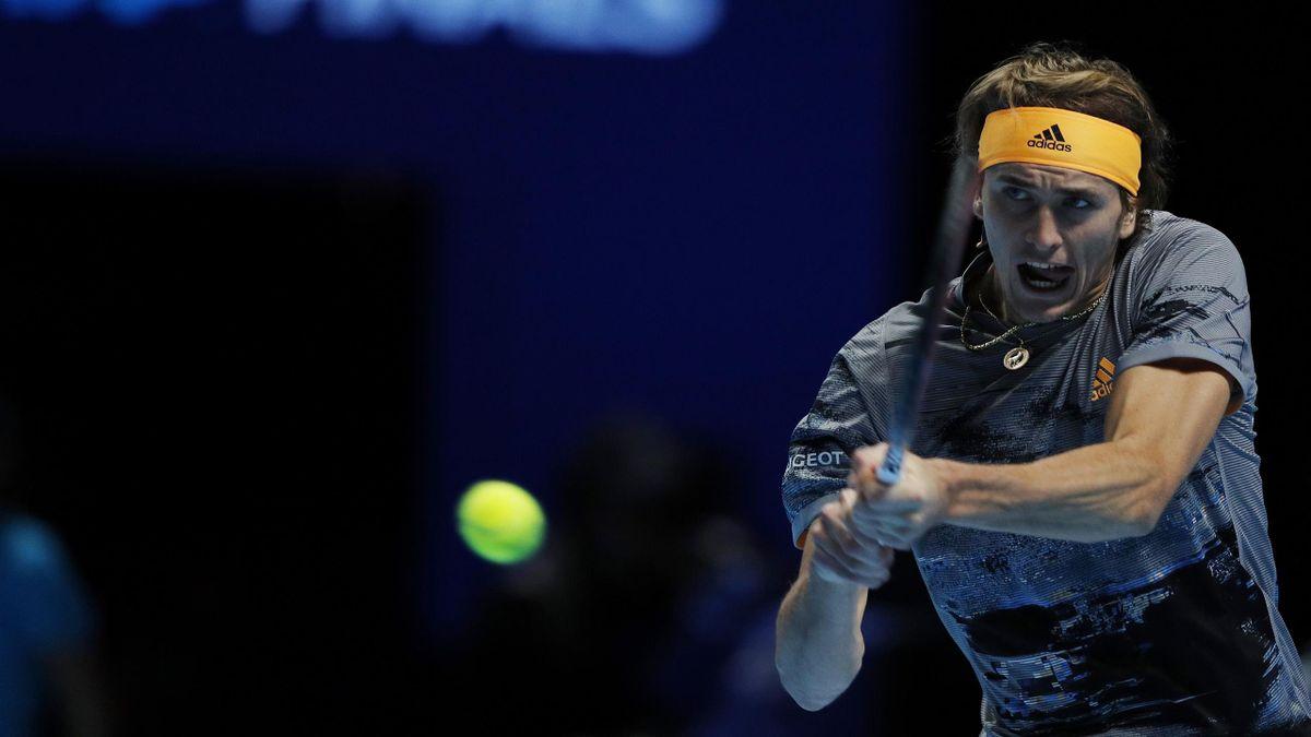 Alexander Zverev bei den ATP Finals 2019