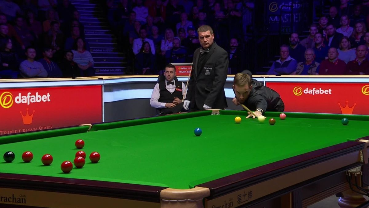 London Masters :  Carter is leading Selby 3-1 at Alexandra Palace