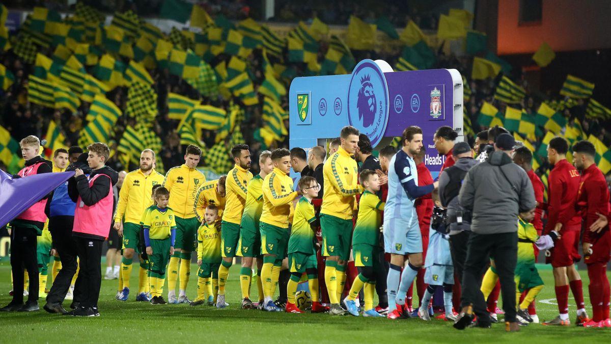 Norwich City v Liverpool FC
