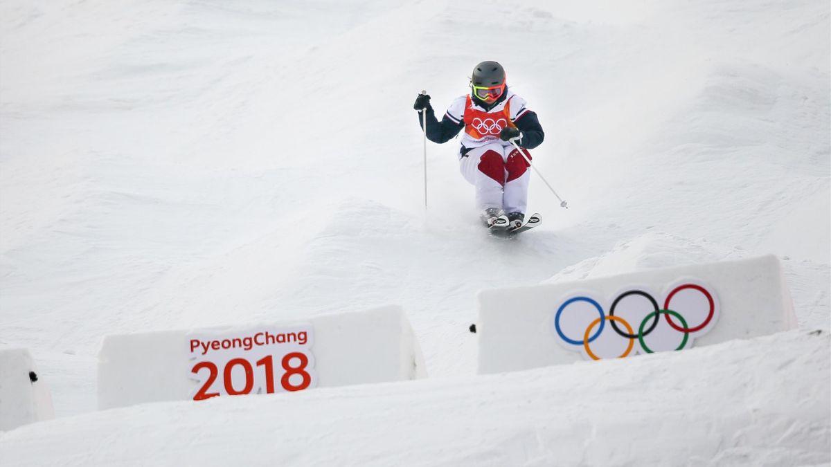 Perrine Laffont aux Jeux Olympiques 2018