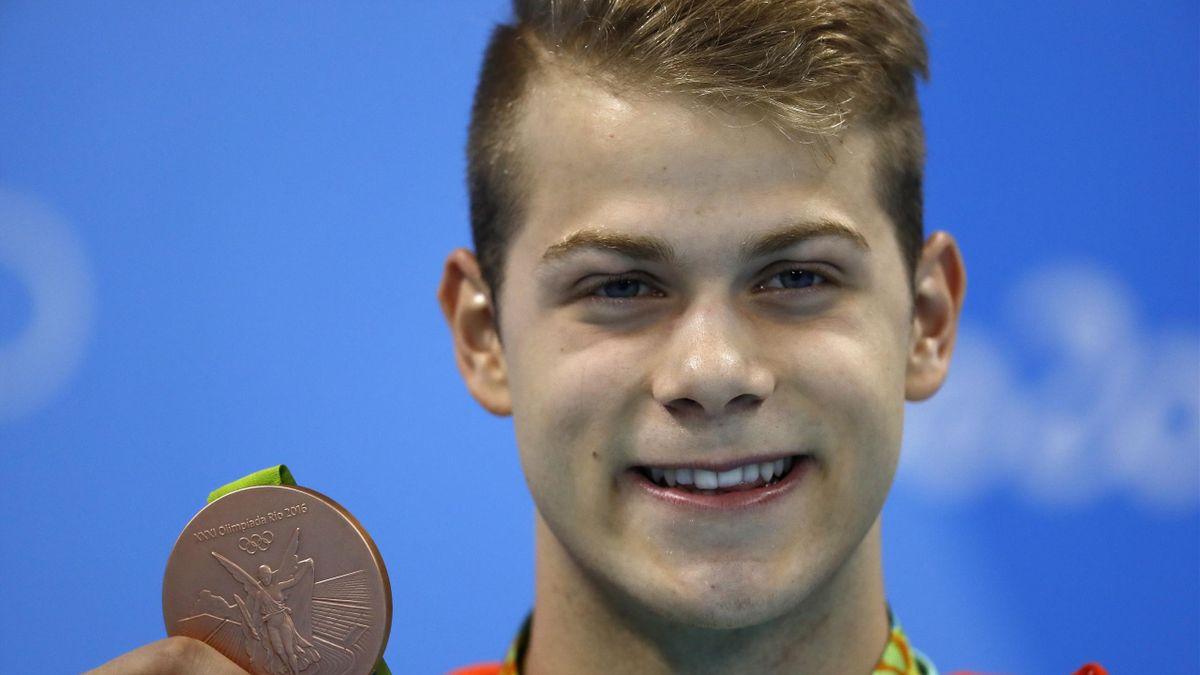 Tamas Kenderesi medaglia di bronzo nei 200 farfalla ai Giochi di Rio