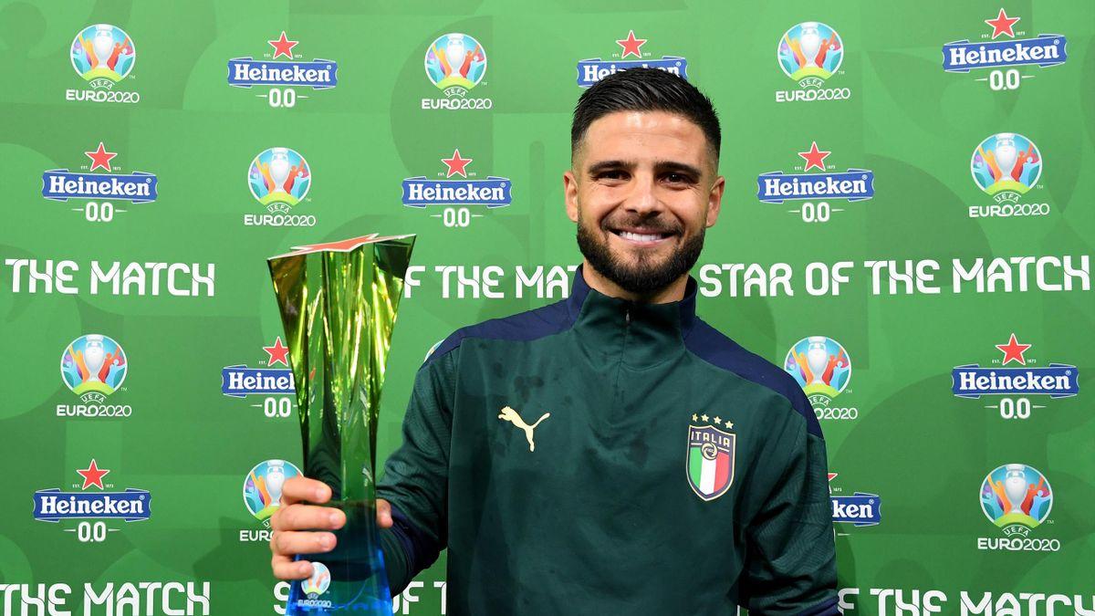 Lorenzo Insigne, man of the match di Belgio-Italia