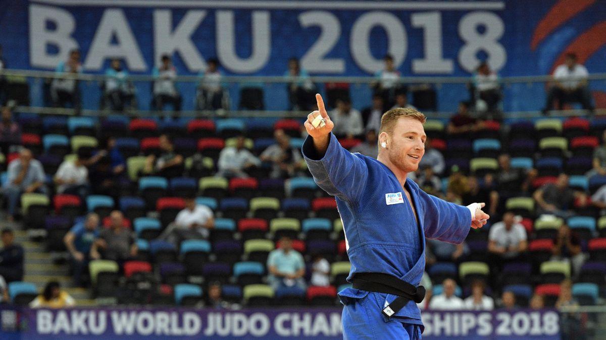 Axel Clerget, médaillé de bronze aux Mondiaux de Bakou en -90kg