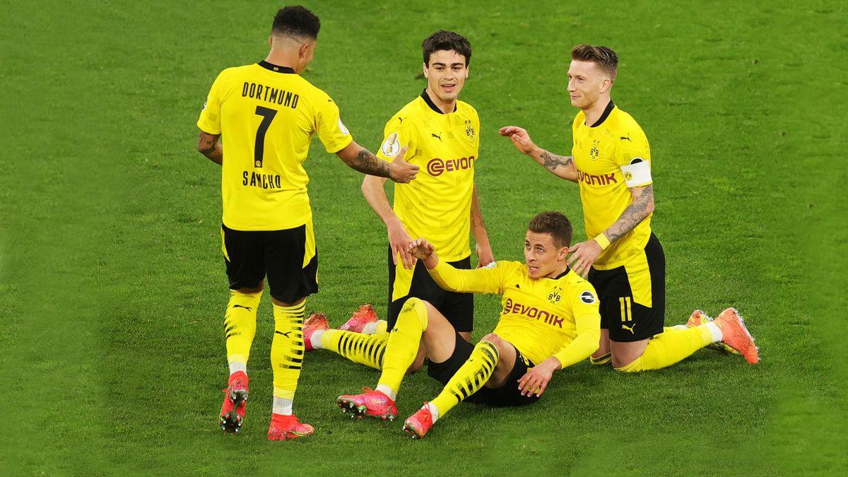 BVB-Profis Hazard, Sancho, Reyna, Reus