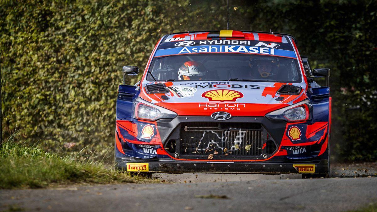 Thierry Neuville (Hyundai) - WRC Rallye d'Ypres 2021
