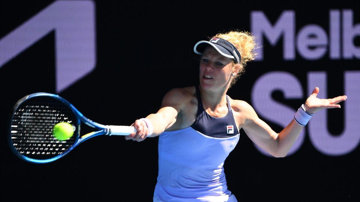 Laura Siegemund musste sich im Achtelfinale der Gippsland Trophy Simona Halep geschlagen geben