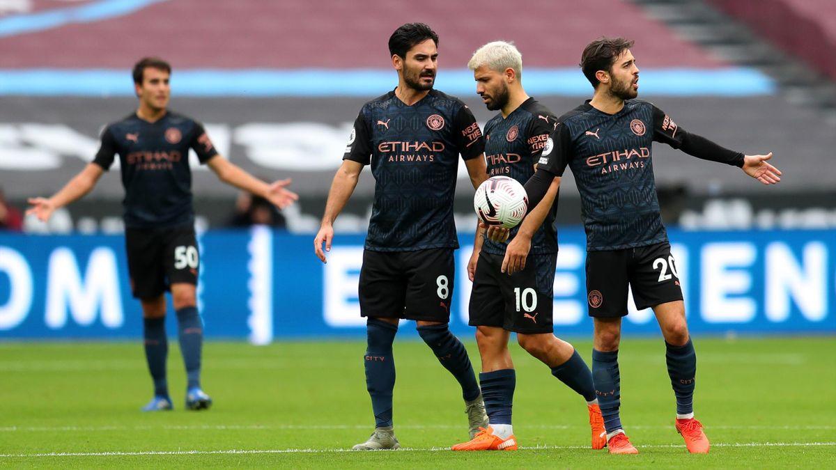 Manchester City a concédé le nul sur la pelouse de West Ham