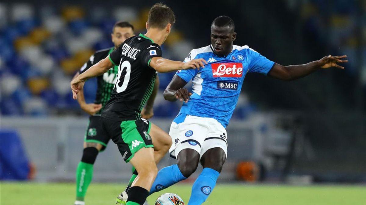 Kalidou Koulibaly - Napoli-Sassuolo Serie A 2019-20