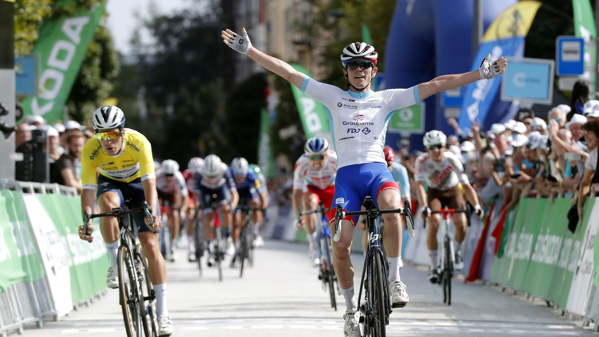 David Gaudu wins final stage of Tour of Luxembourg, September 18, 2021