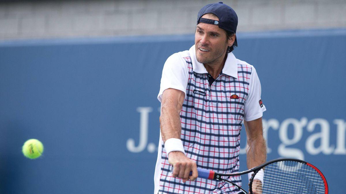 Tommy Haas ist einer mit 37 Jahren einer der ältesten Spieler der US Open