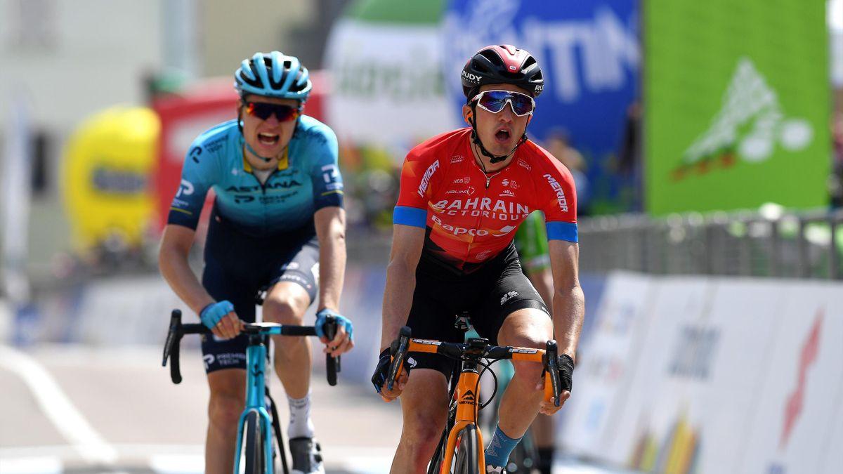 Pello Bilbao and Aleksander Vlasov | Tour of the Alps