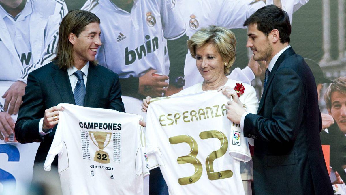 Эсперанса Агирре – претендент на пост мэра Мадрида