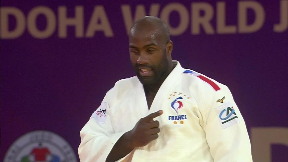 Judo masters - Doha Day 3 - Final +100kg - Teddy Riner