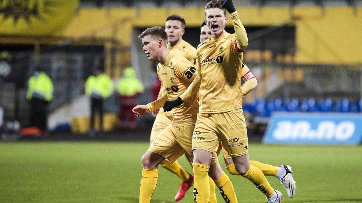 Junker og Bodø/Glimt jubler for seier.