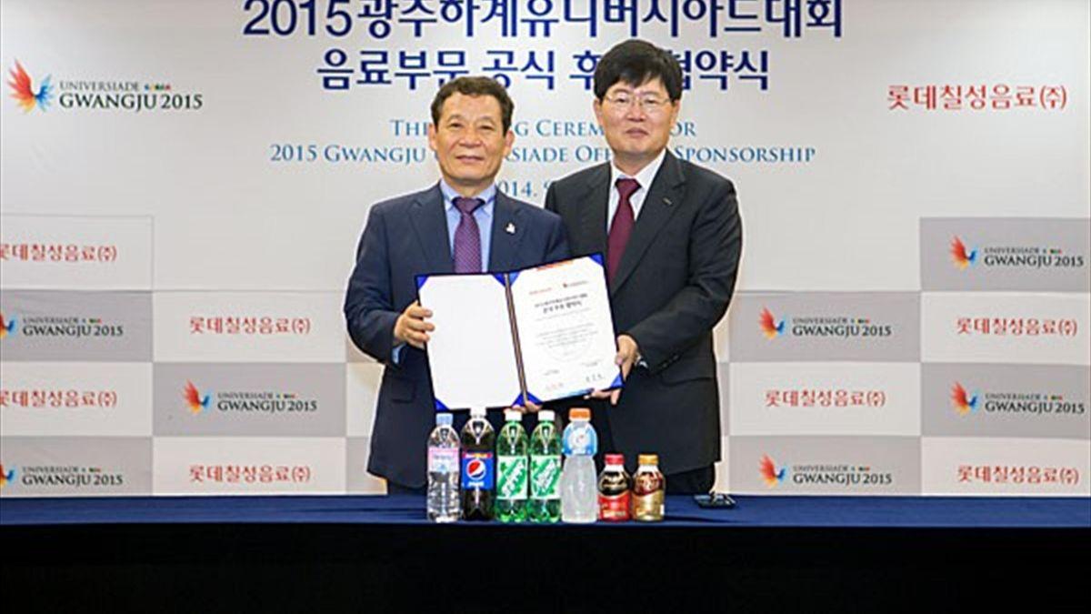 Lotte Chilsung, orgulloso patrocinador de la Universiada de Verano 2015