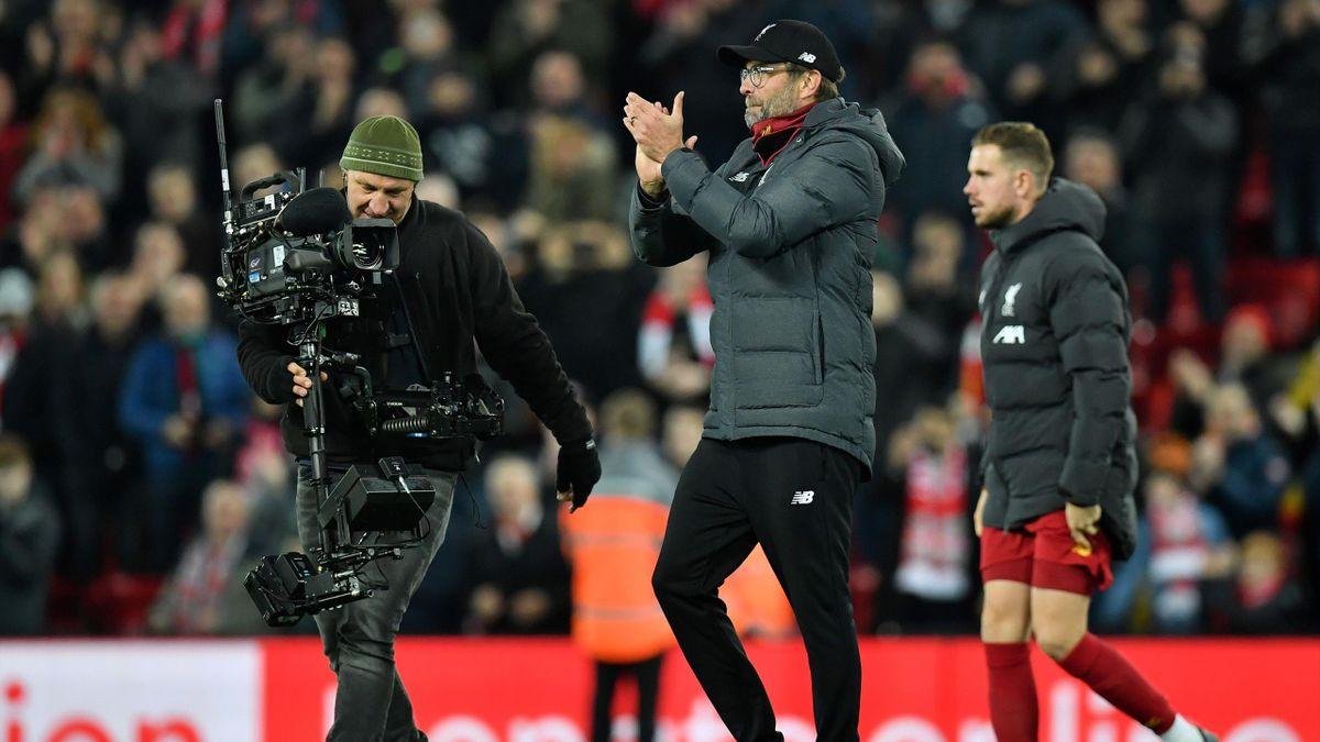 Jürgen Klopp, l'entraîneur de Liverpool - 10/11/2019