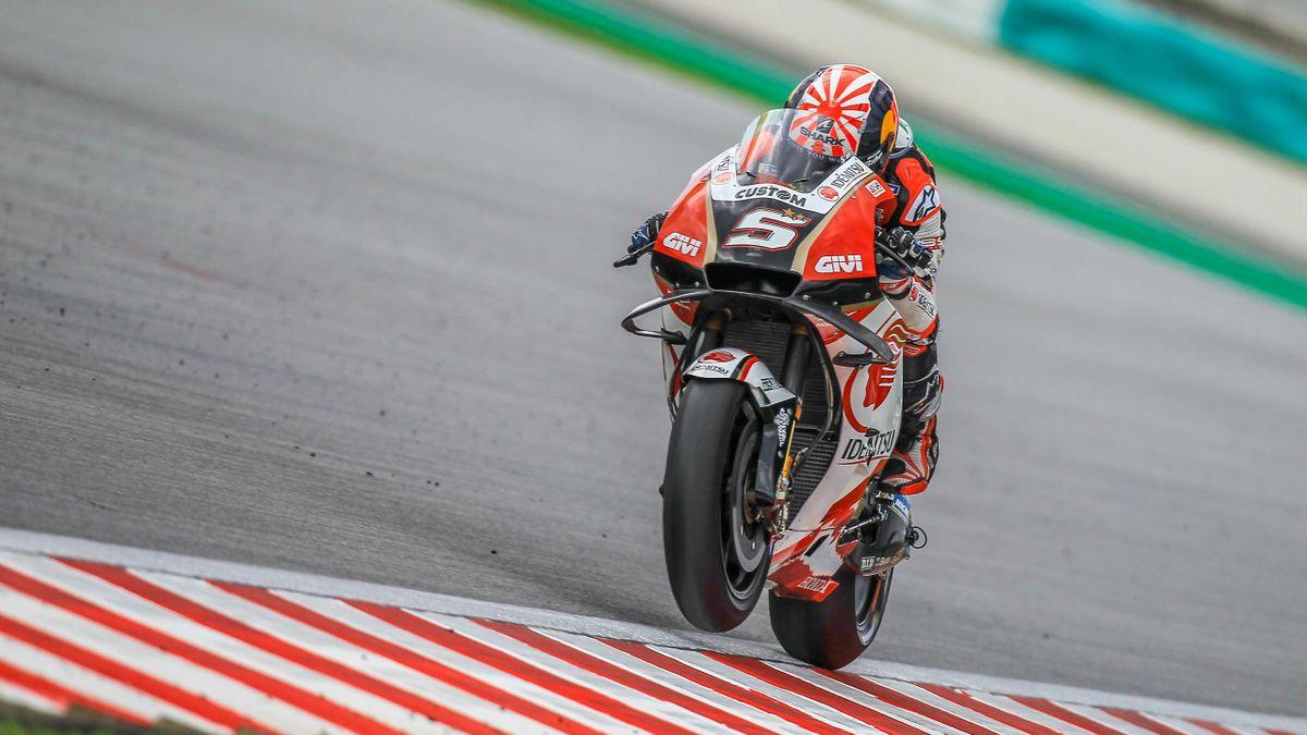 Johann Zarco (Honda LCR) lors du Grand Prix de Malaisie 2019