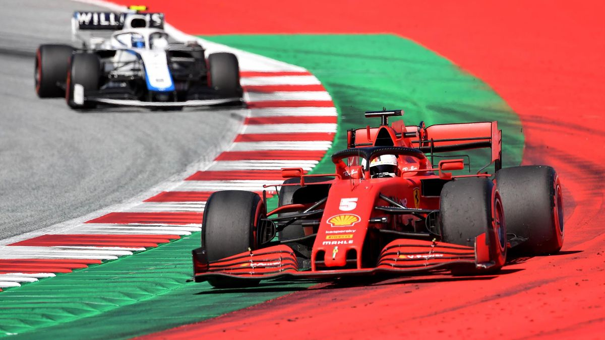 Sebastian Vettel (Ferrari) in Österreich