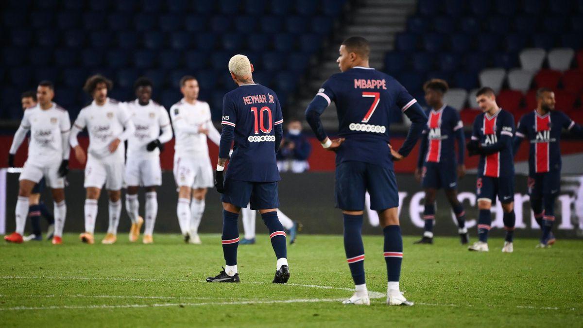 Mbappé et Neymar (PSG) face à Bordeaux