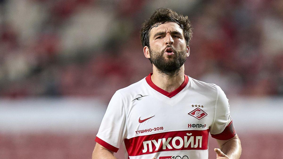 Георгий Джикия, «Спартак»