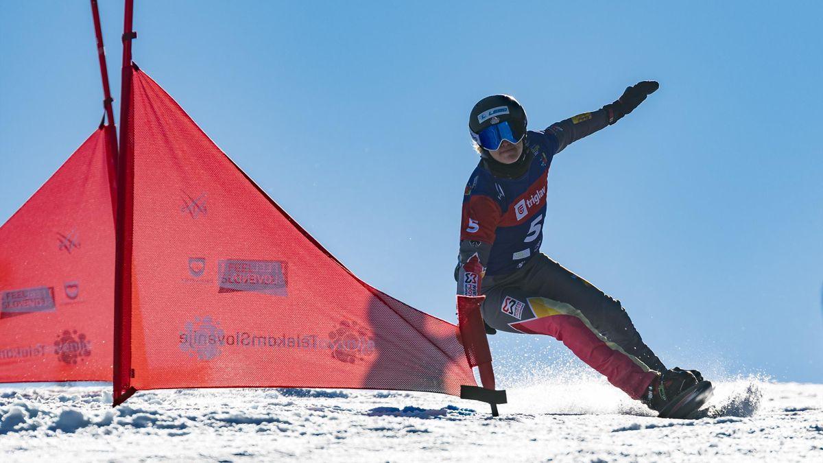 Glänzte mit einem Podestplatz in ihrem letzten Rennen: Selina Jörg