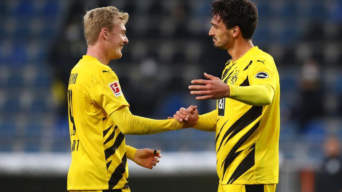 Mats Hummels e Brandt, Arminia-Borussia Dortmund