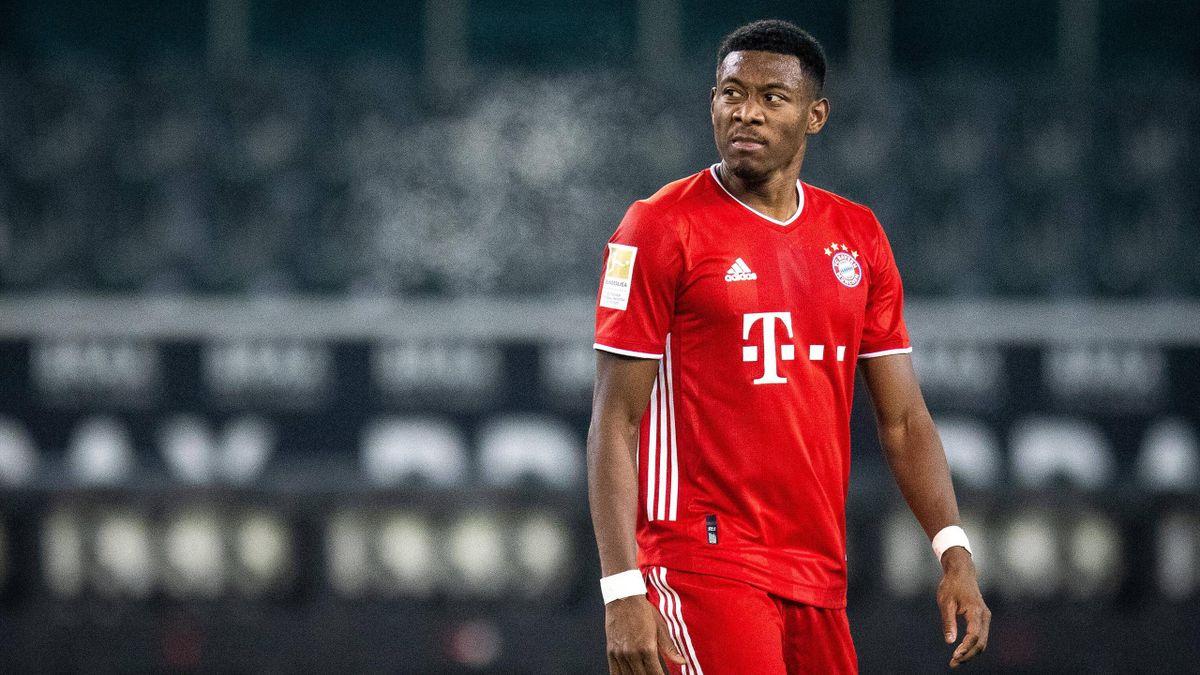 David Alaba vom FC Bayern