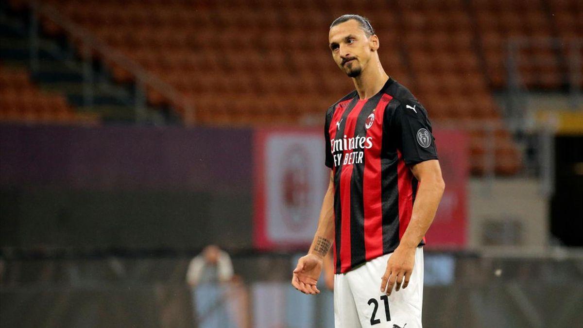 Zlatan Ibrahimovic - Milan-Cagliari Serie A 2019-20