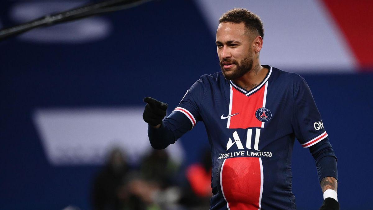 Neymar impliqué sur les quatre buts du PSG face à Montpellier.