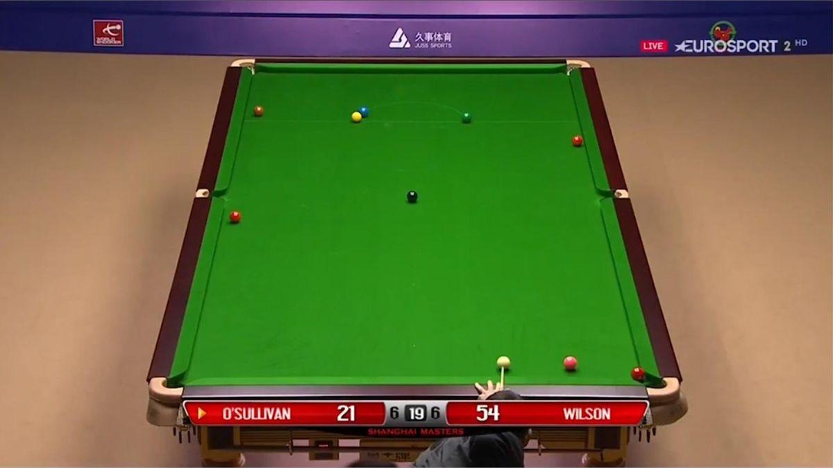 Ronnie O'Sullivan at the Shanghai Masters