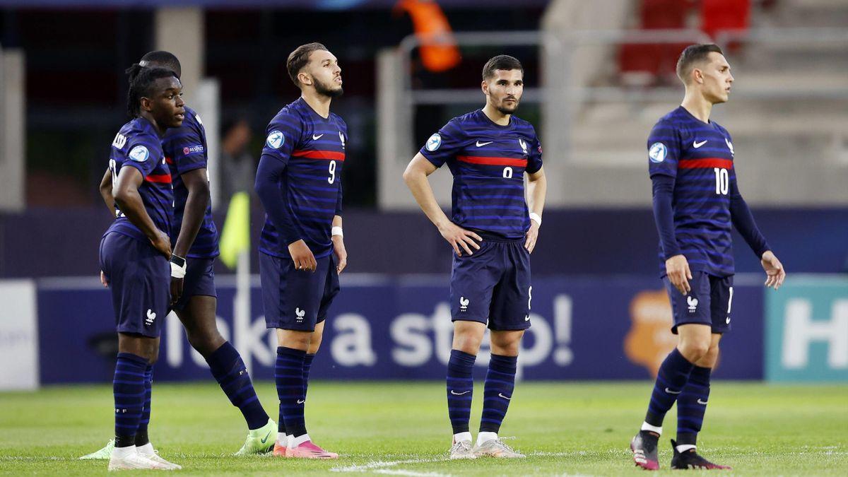 Les Bleuets K.O après leur élimination de l'Euro U21