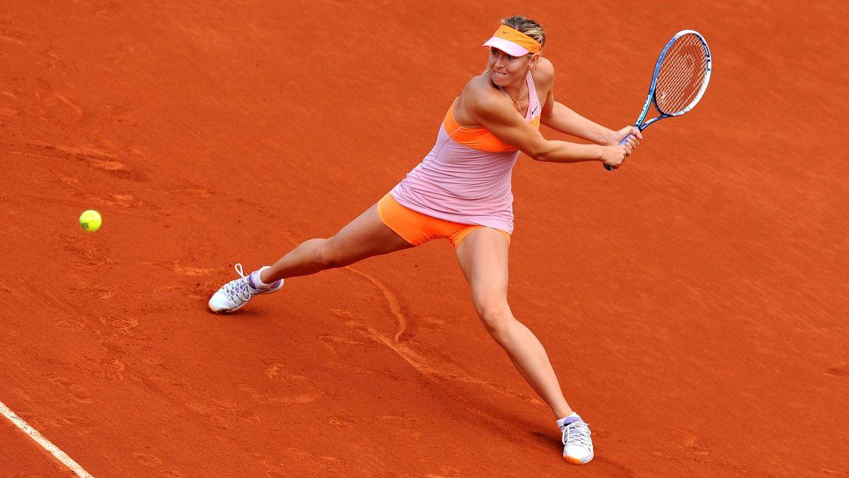 Maria Sharapova à Roland-Garros