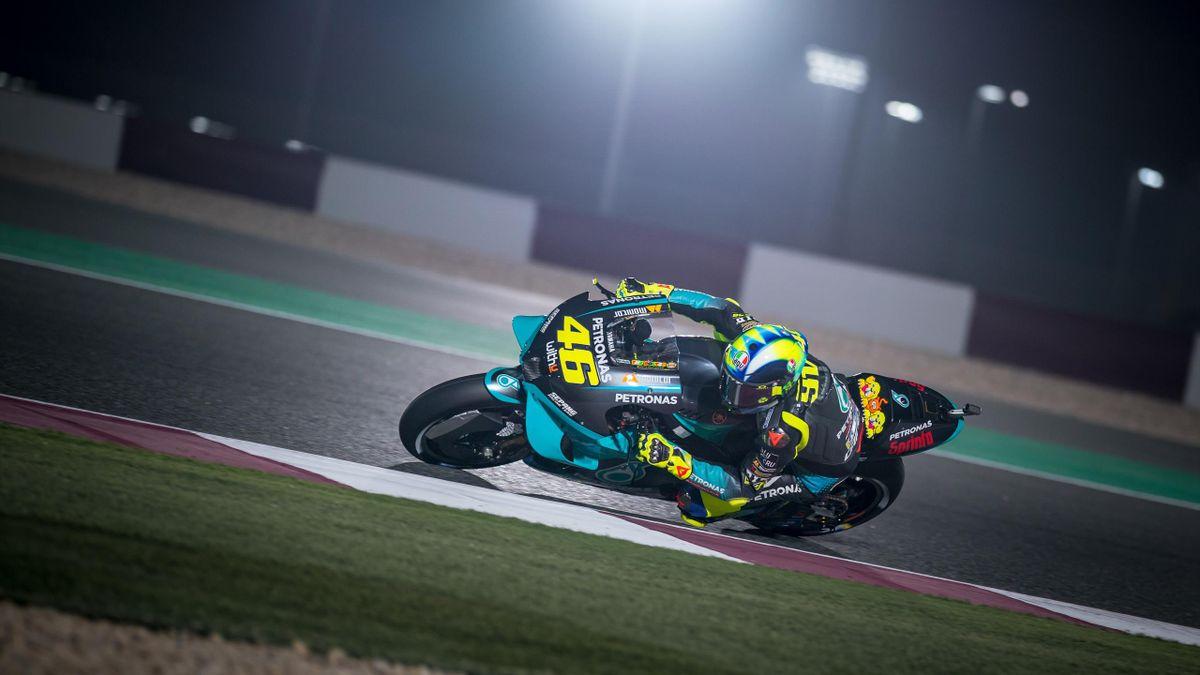 Valentino Rossi überzeugte im Qualifying in Katar
