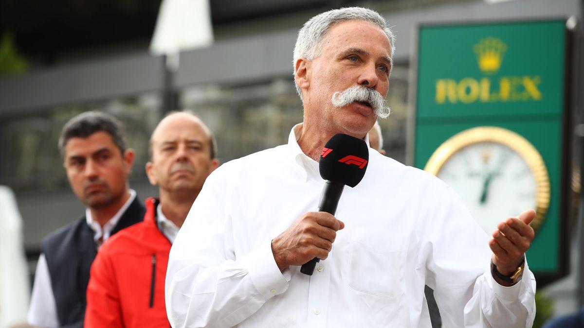 Formel-1-Boss Chase Carey will die Rennserie am 5. Juli in Spielberg in die Saison starten lassen