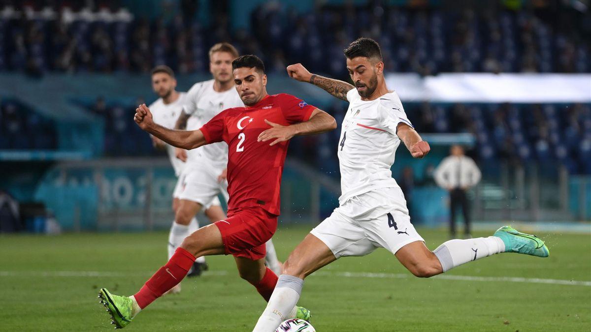 Leonardo Spinazzola, Italy-Turkey, Euro 2020. Getty Images
