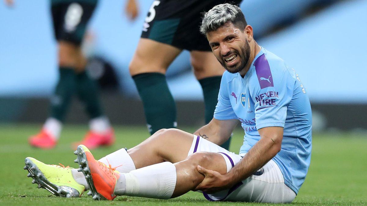 Sergio Agüero s-a accidentat din nou în meciul pe care Manchester City l-a jucat la Londra cu West Ham