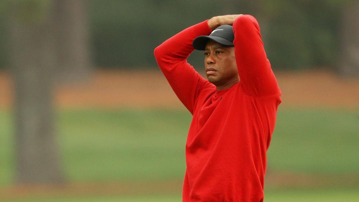 Tiger Woods stellte auf seiner Schlussrunde beim Masters in Augusta einen persönlichen Negativrekord auf