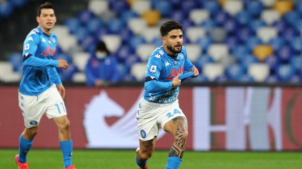 Lorenzo Insigne - Napoli-Juventus Serie A 2020-21