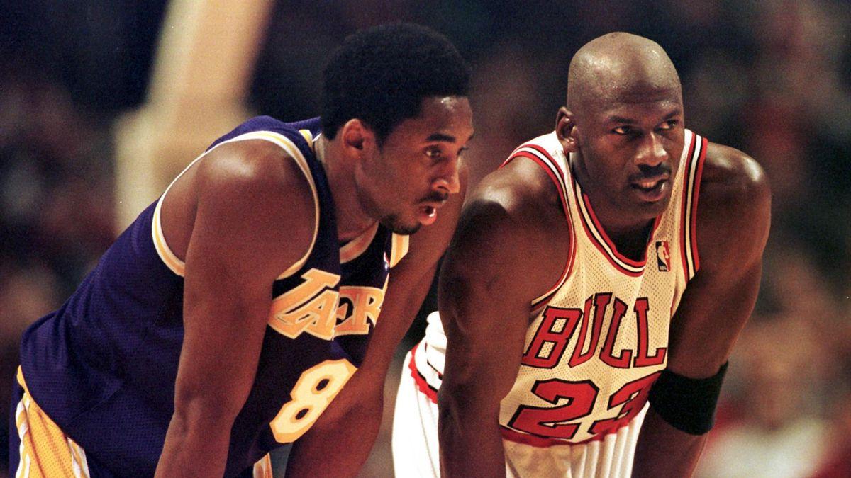 Kobe Bryant face à son idole Michael Jordan et les Chicago Bulls en 1997