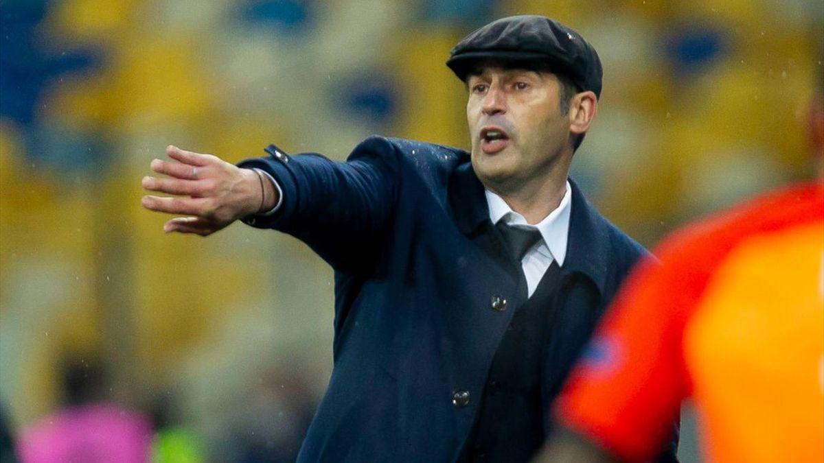 Fonseca dà indicazioni durante Shakhtar Donetsk-Roma - Europa League 2020/2021 - Getty Images