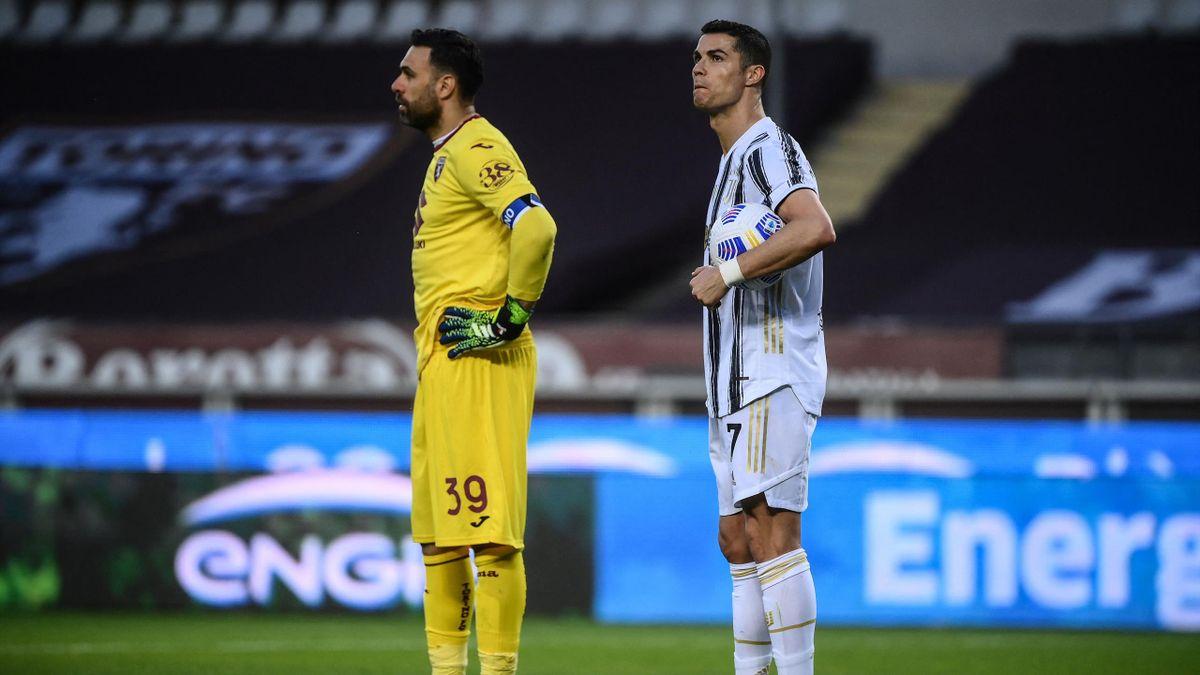 La Juventus Turin et Cristiano Ronaldo ont lâché deux points face au Torino