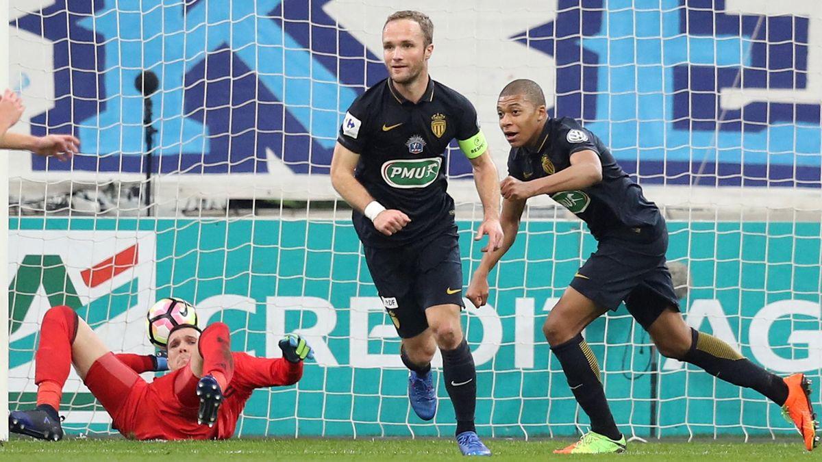 Mbappé et Germain (Monaco) contre l'OM